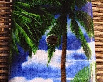 Palm Trees Cable / Phone Switch Plate Cover