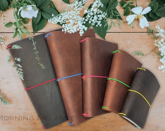 Brown Traveler Midori Notebook Cover, Leather Cover, Fauxdori Leather Cover, Fauxdori Cover, Standard Notebook, Handmade Cover,Journal Cover