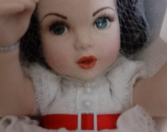 Franklin Mint Scarlet O Hara Portrait Baby new in package Porcelain Portrait Doll