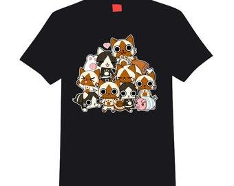 Monster Hunter Airou / Felyne t-shirt
