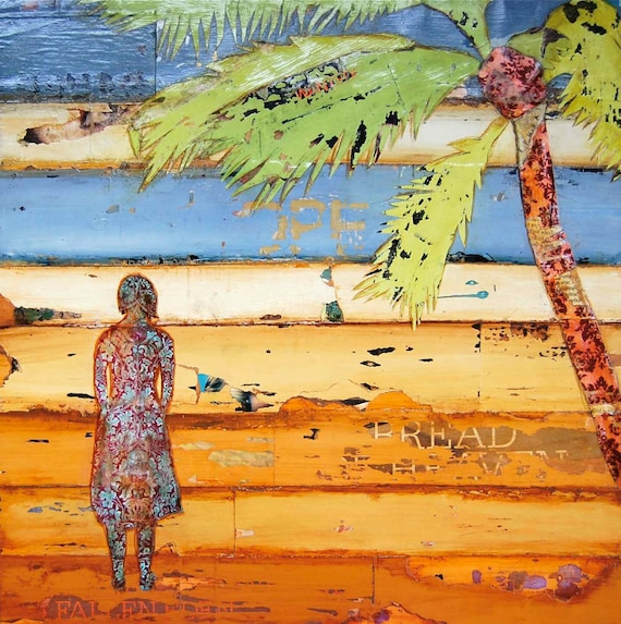 "Palm Tree - ""I Deborah, Arose"" - Fine Art Print, All Sizes"