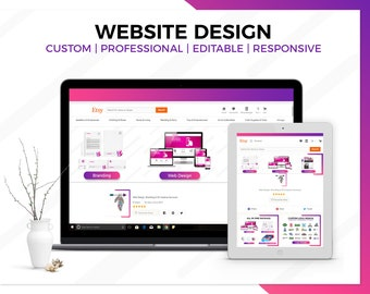 SALE Business Website Design, Wordpress Website Design, Custom Website, Website Design, Fully Functional Website, Professional Website
