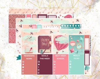 Dreamy MINI Weekly Kit for Erin Condren and Happy Planner (with optional add on!)