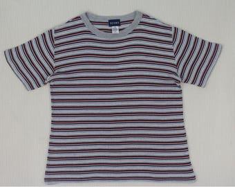 Beams T Shirt Vintage Beams T Shirt Striped T Shirt