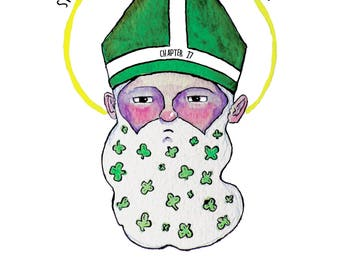 St. Patrick Evangelizes Hipsters