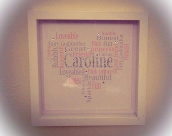 Personalised word art Picture