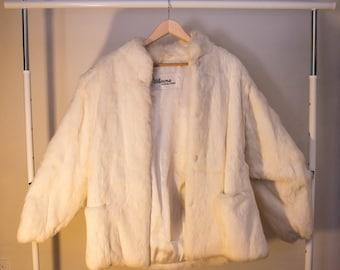 Vintage 80's Wilson's RABBIT FUR Jacket