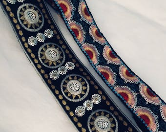 Boho sequin headband