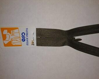 zipper 60 cm not separable Z41 invisible 774 light khaki Green