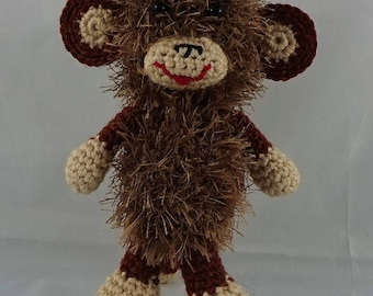 Little monkey - amigurumi crochet plush toy