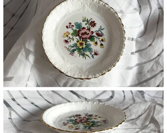 REDUCED! Coalport Ming Rose Bone China Pin Dish. Fired in the First 'Saffil' Fibre Lined Kiln.