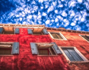House. Venice, Italy. Photographic print 8x10, 11x14