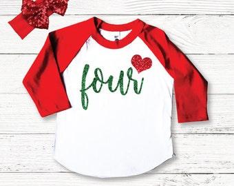 Birthday Girl Shirt, Girls Birthday Shirt, Four Birthday Outfit, Birthday Shirts for Girls, 4th Birthday Outfits, Birthday Clothes