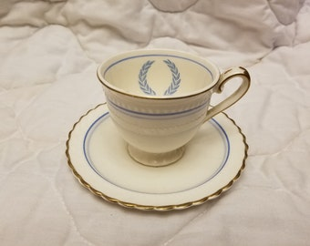 Monticello dinnerware Demitasse tea cup and saucers