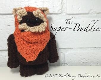 Wicket (Ewok) Pop Culture Inspired Nerd Crochet