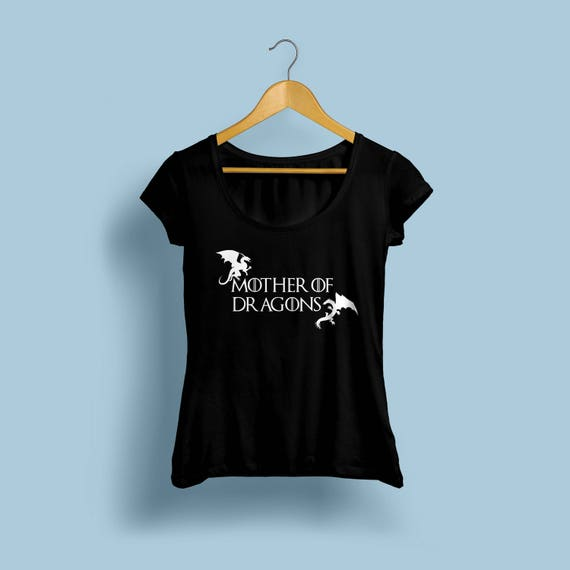 Game Of Thrones Mother Of Dragons Womens Shirt S-XXL Crew and Vneck Available