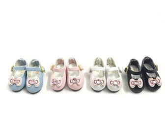 2.5CM Doll Shoes for Blythe/Pullip/Azone Doll,1/8 BJD Shoes Outfit for Dolly Bjd 1/8 of Lati Format,Luts Tiny Delf,Irrealdoll,Pukifee