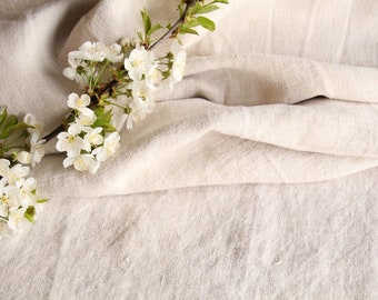 SP29 antique handloomed laundered 4.48 yards french 리넨 24.41inches wide upholstering curtain projects wedding PALE NATURAL , vintage,