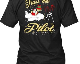 Trust Me I'm A Pilot T Shirt, Being A Pilot T Shirt
