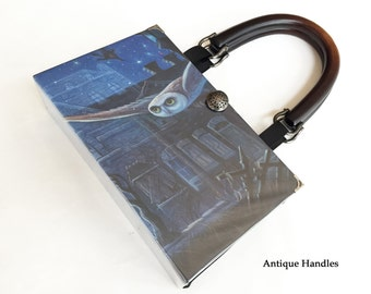 Harry Potter and The Order of The Phoenix Book Purse - Harry Potter Collector Edition Book Purse - American Handmade Product