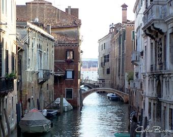 Little backstreet of Venice, Italy