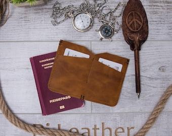 Personalized Leather, Passport Holder, Passport Book Cover,  Travel Wallet, Passport Case, Passport Cover İnitials #PASSKEY