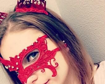 Lace Masquerade Mask