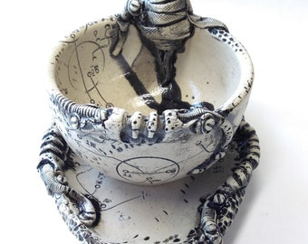BioMech Cup and Saucer Set