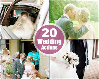 Wedding Photoshop Elements Actions