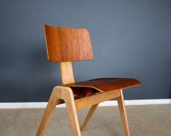Mid Century Robin Day Hillestak Chair Retro Vintage 50s 60s 70s