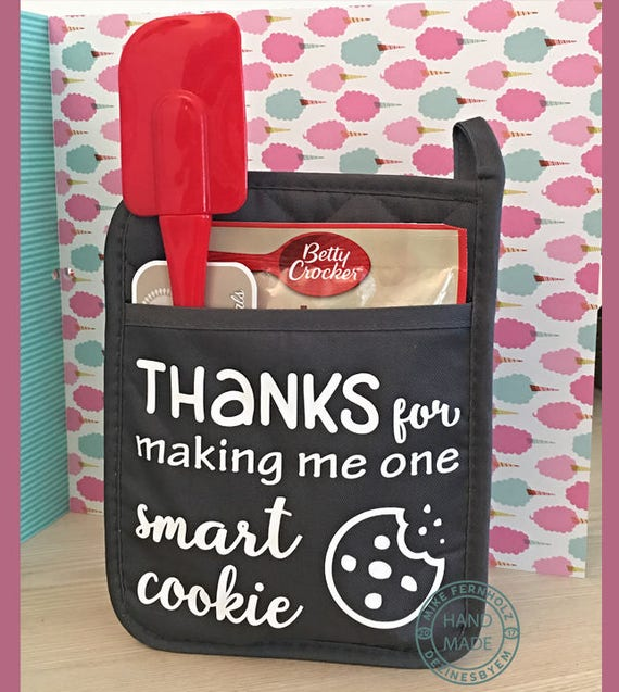 Pot Holder Svg: Smart Cookie SVG. Great For Teacher's Gift. One Smart