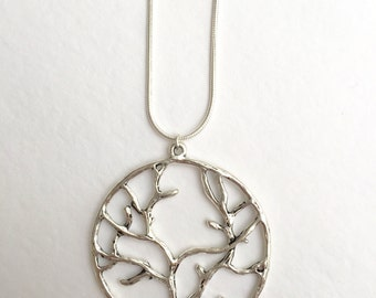 Tree of life pendant, silver tree of life necklace, tree pendant, tree necklace, silver tree pendant, tree of life jewellery, tree of life