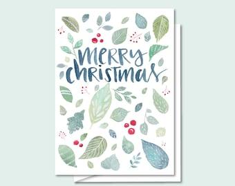 Holiday Greeting Card- Merry Christmas