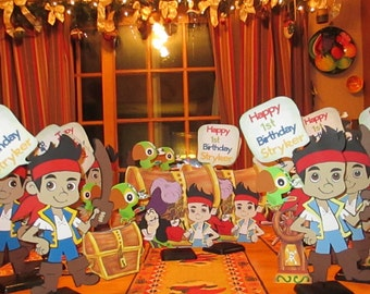 Pirate party Centerpieces