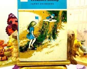 The Treasure Stump by Janet Duchesne Vintage Hardback 1970's Childrens Reading Book Hamish Hamilton Gazelle