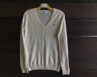 Vintage 90's Lacoste Cashmere Sweater