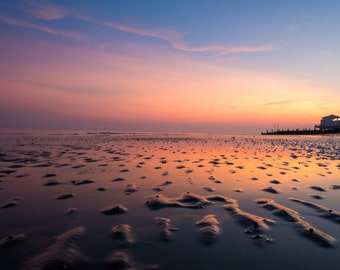 Sunset on Worthing Beach