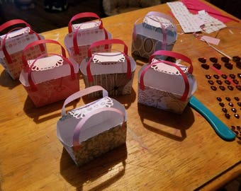 Valentine theme mini purses, set of 10 for 10