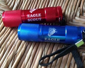 Scout Eagle LED Flashlight - Laser Engraved