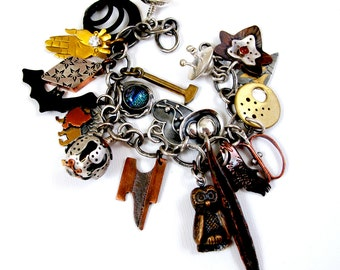 EtsyMetal Charm Swap 14 Bracelet