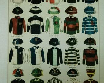 SALE - Print of English Soccer Shirts