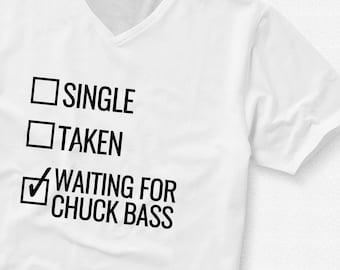 Waiting for Chuck Bass - T-Shirt