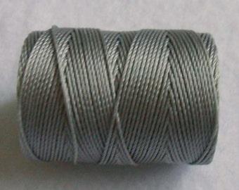 C-Lon 0.5mm Beading Cord, Silver