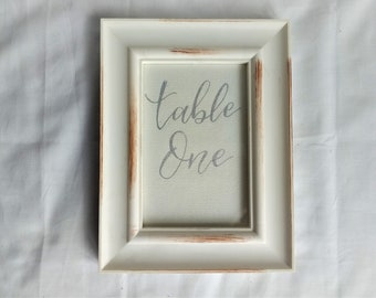 Wedding Table Number / 6x4 / Wedding Seating / Table Numbers / Table Cards / Wedding Decor / Wedding Stationery / Table Name / Party