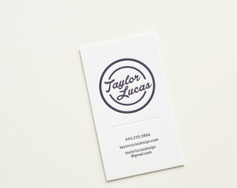 Custom extra thick letterpress business card with edge custom extra thick letterpress business card colourmoves