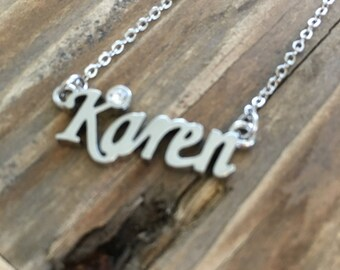 Karen Necklace in Silver
