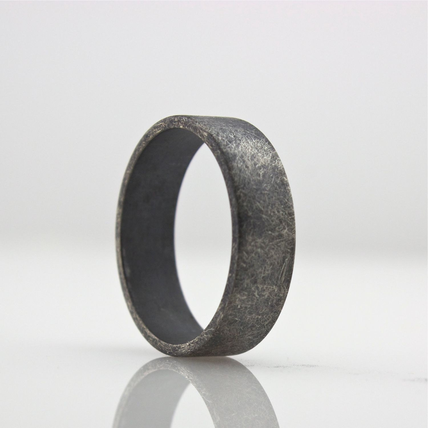 titanium band to amazon black com fit sizes dp modern mens bands ring wedding comfort style