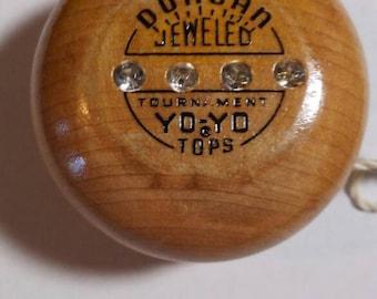Duncan JEWELLED Tournament Tops Yo Yo Vintage