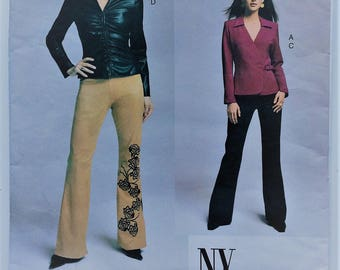 Vogue sewing pattern 2679 - Misses' petite shirt and pants - The NY Collection