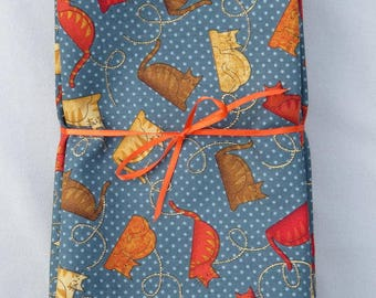 Cats 100% Cotton Napkins set of 6